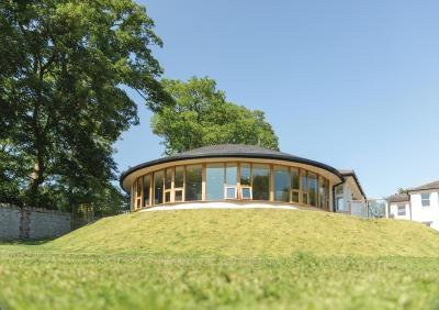 Stone House nursing care home - conservatory