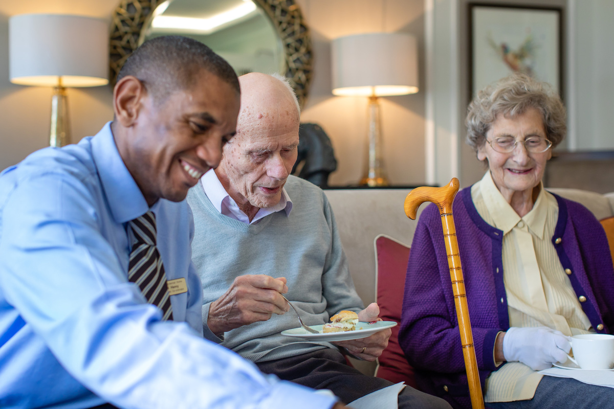 The safety of a quality care home at Peverel Court Care