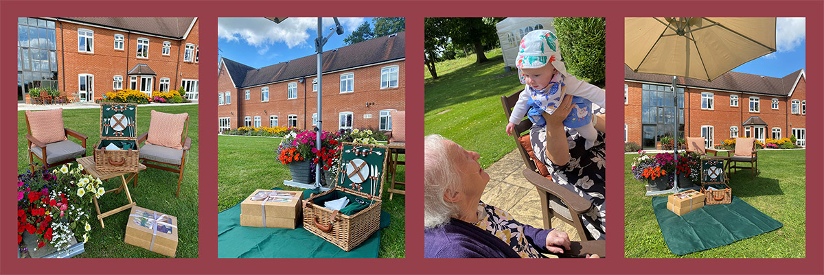 Picnics at Peverel Court Care with Dorothy
