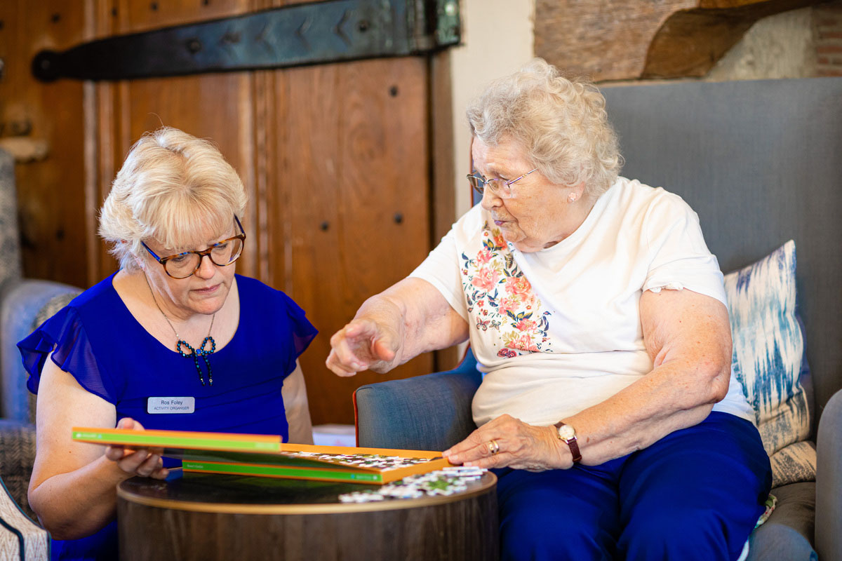 Values based interviewing at Peverel Court Care
